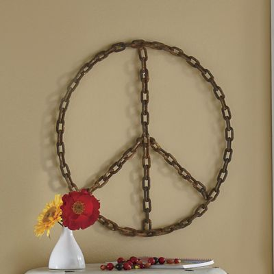 Chain of Peace Wall Décor from Seventh Avenue | 732107