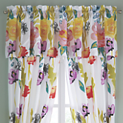 watercolor valance