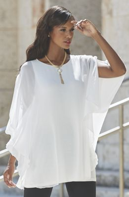 Sheer and Simple Tunic