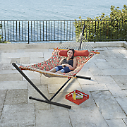 All-in-One Quilt-Top Hammock with Stand