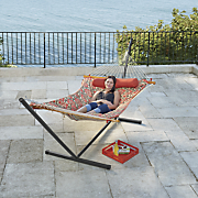 all in one quilt top hammock with stand