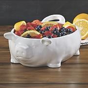 ceramic pig bowl