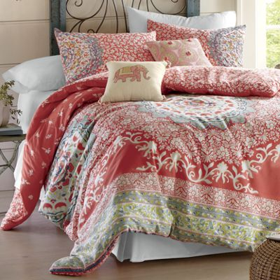 Amrita Medallion Comforter Set and Pillows