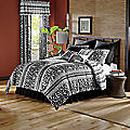 Zebra Chic Reversible Comforter Set