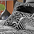 Zebra Chic Print Pillow