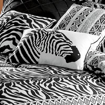 Zebra Chic Zebra Pillow