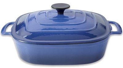 Ginny's Brand 3.5-qt. Cast Iron Dutch Oven