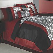 Gilded Scroll Comforter Set