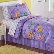 Enchanted Butterflies Complete Bed Set and Valance