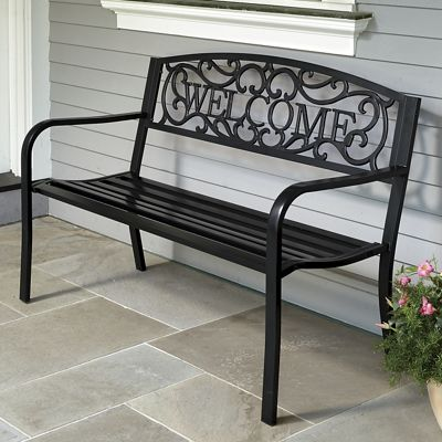 Welcome Bench From Country Door N9733400