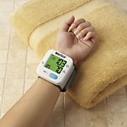 color indicating wrist blood pressure monitor