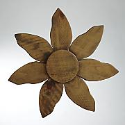 wood wall flower