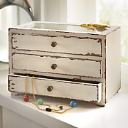 3 drawer jewelry holder
