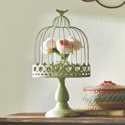 Green Wire Cloche from Country Door | NI734009