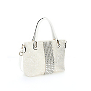 crystal lace tote