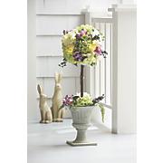 Lit Hydrangea Topiary