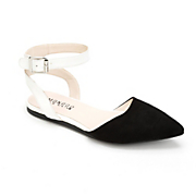 two tone thea buckle flat by monroe and main