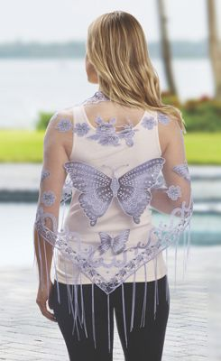 Butterfly Scarf/Shawl