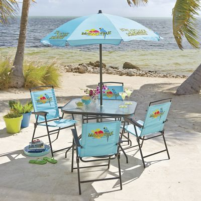 Perfect 6 Piece Margaritaville Patio Set