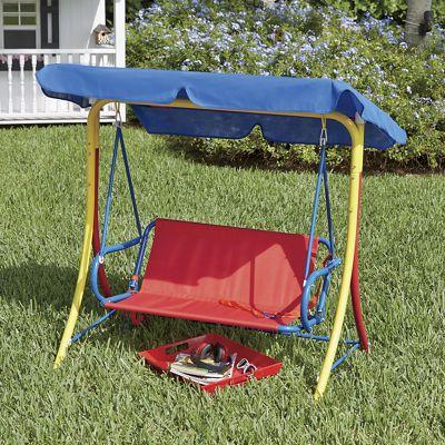 Kidsu0027 Canopy Swing & Kids Canopy Swing from Seventh Avenue | DI735032