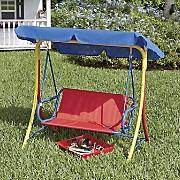 kids  canopy swing
