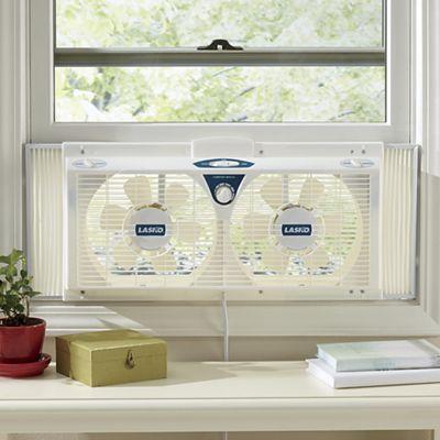 Twin Window Fan by Lasko