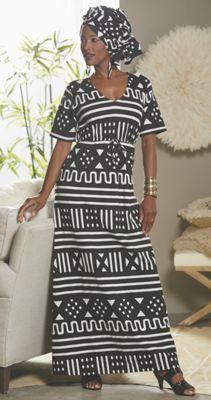 Damita Head Wrap and Dress