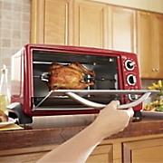ginny s brand 6 slice toaster oven with rotisserie