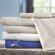 Vine Embroidered Microfiber Sheets