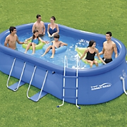 15' Oval Quick Set Pool by Summer Waves