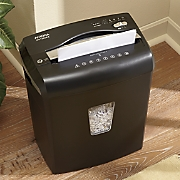 12-Sheet Crosscut Jam-Free Paper Shredder by Aurora