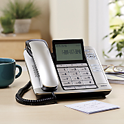 Corded Desktop Phone with Caller by RCA