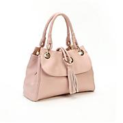 braid tassel satchel