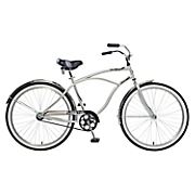 Beach Hopper Men's Single-Speed Beach Cruiser Bike by Mantis