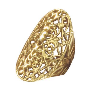 Filigree Oval Ring