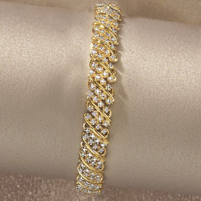 Diamond Arc Bracelet