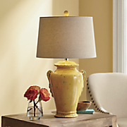 yellow jug lamp