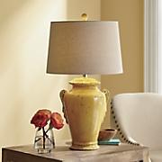 Yellow Jug Lamp