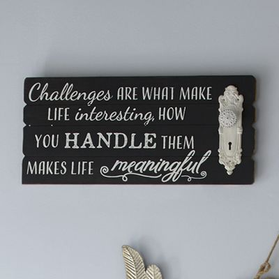 Challenges Word Sign