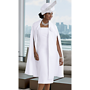 carmela hat and jacket dress