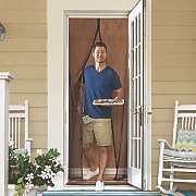 Magic Mesh Hands-Free Screen Door