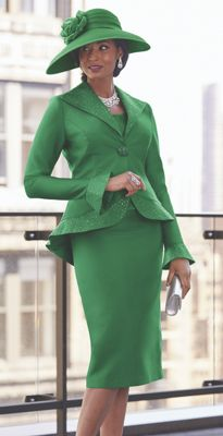 Verdi 3-Piece Skirt Suit