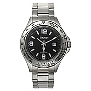 Men's Watch with Black Face by Croton