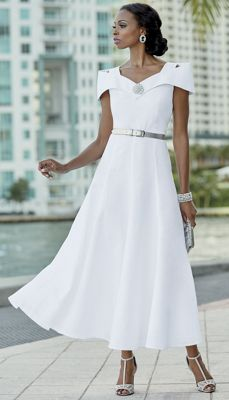 Alisa Linen Dress
