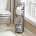 Live Laugh Love Toilet Paper Holder