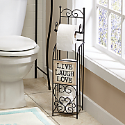 Live Laugh Love Toilet Paper Holder