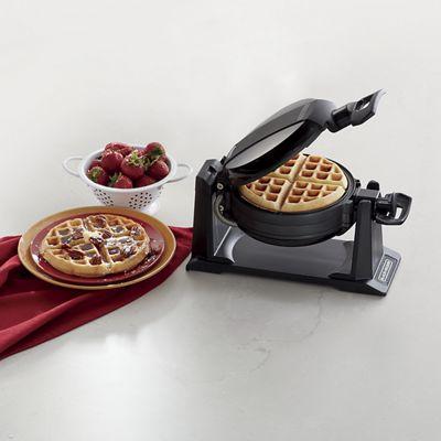 black and decker flip waffle maker instructions