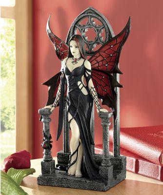 Aracnafaria Figurine by Anne Stokes