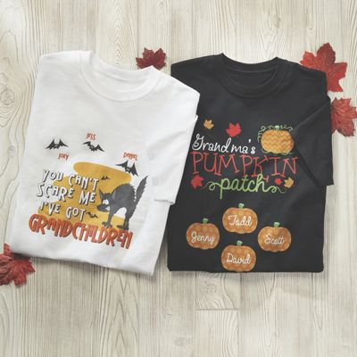 Personalized Grandma Fall Tee