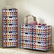 Pretty Pixels Woven Organizing Bins